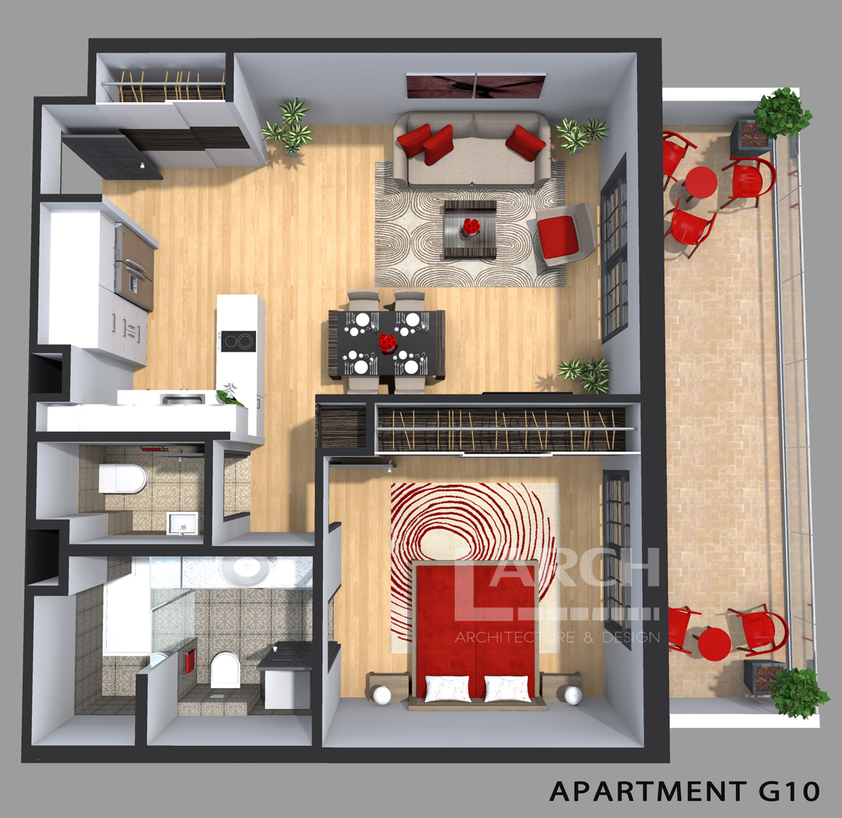 Photorealistic 3D Floor Plans for Real Estate Company
