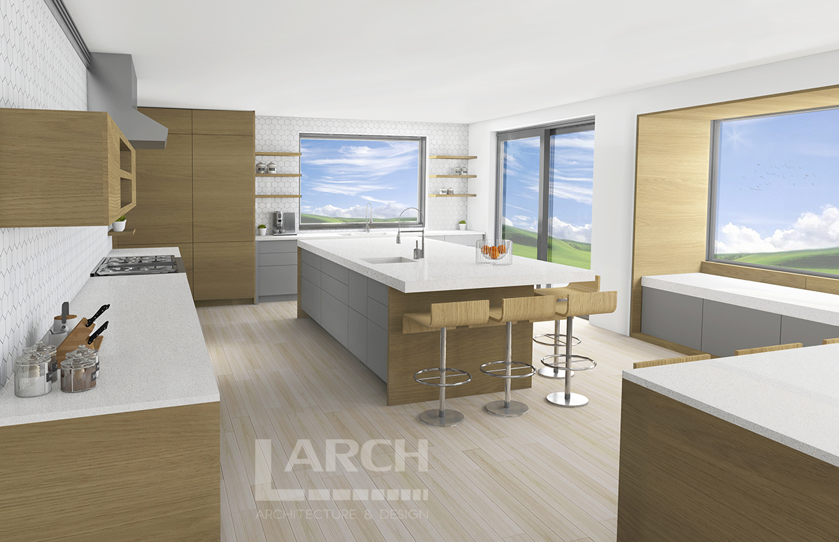 Kitchen Interior Renderings