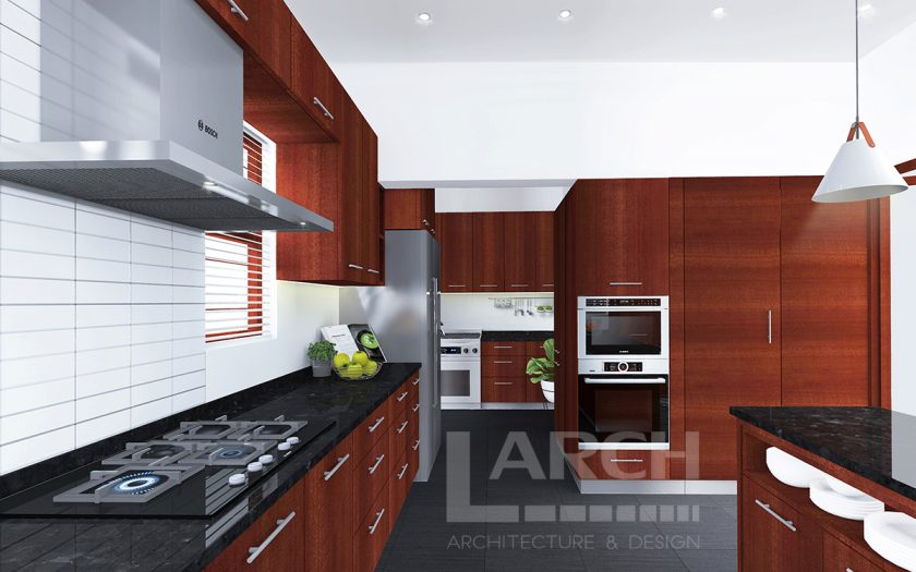 Larch_Kitchen Render 2_Interior design
